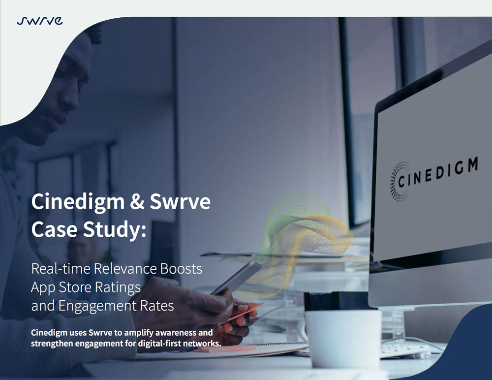 Swrve and Cinedigm