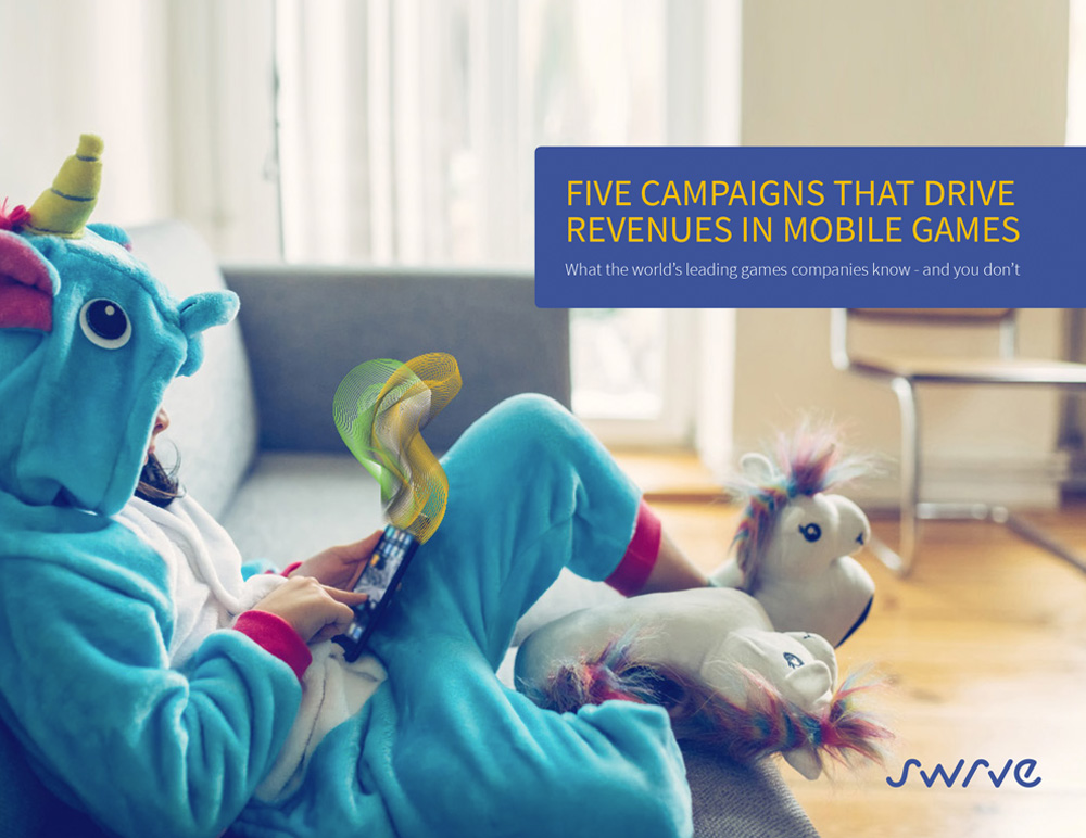 Five Campaigns That Drive Revenues in Mobile Games